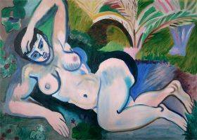 Blue Nude (Memory of Biskra), 1907