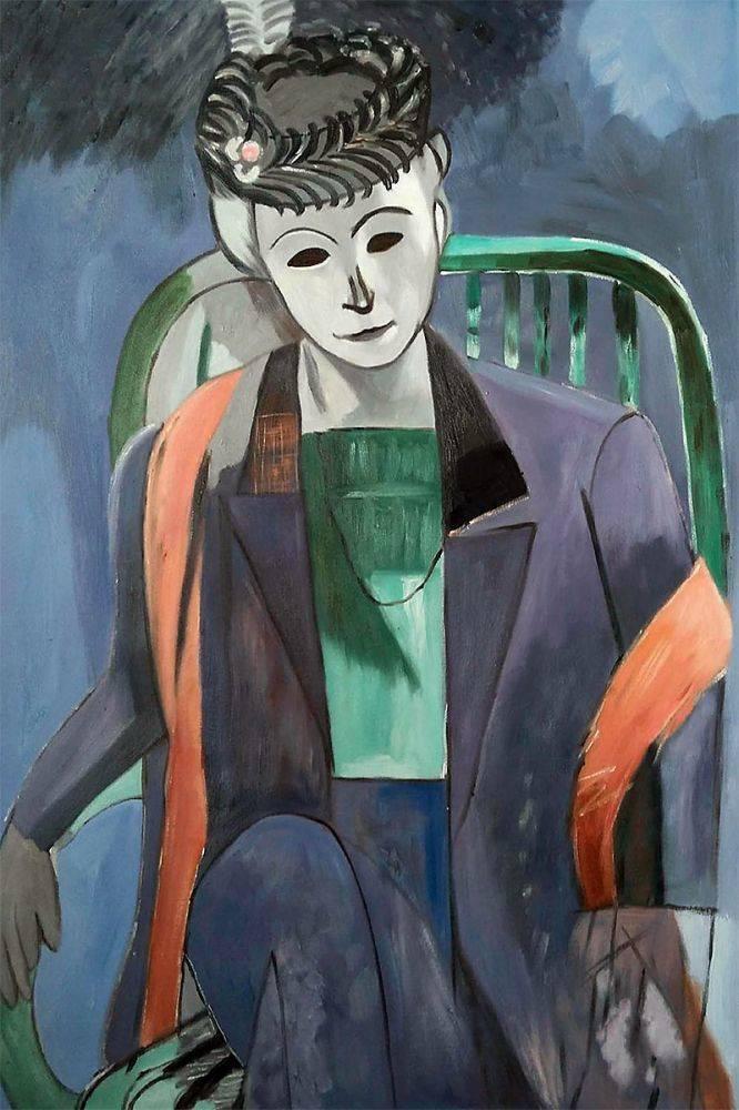 Portrait of the Artist's Wife Matisse