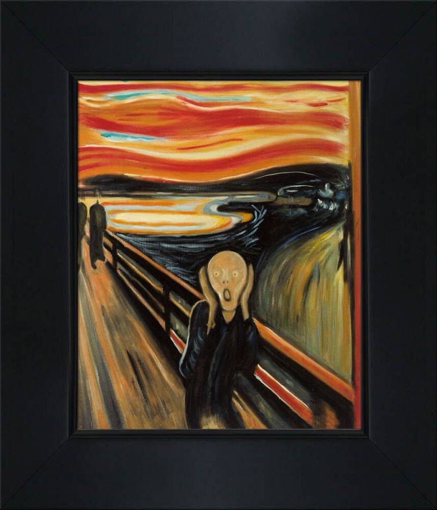 The Scream Pre-Framed