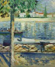The Seine at Saint-Cloud, 1890