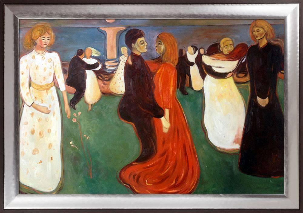 Dance Of Life, 1899-1900 Pre-Framed