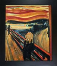 The Scream Pre-Framed