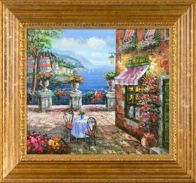 Cafe Italy Pre-Framed