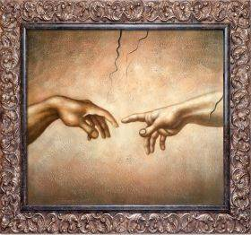 Creation of Adam Pre-Framed