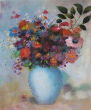 Flowers in a Turquoise Vase, 1912