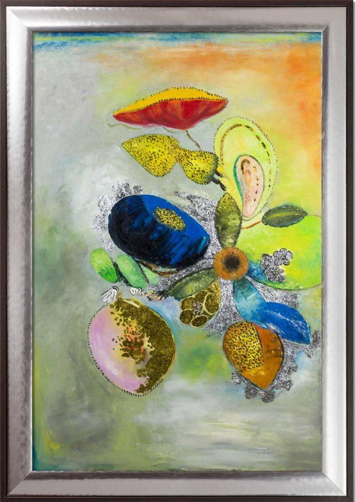Flowers, 1914-1916 (Luxury Line) Pre-Framed