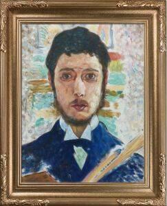 Self Portrait Preframed
