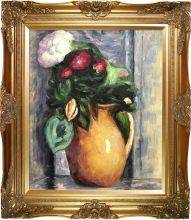 The Yellow Pot Preframed