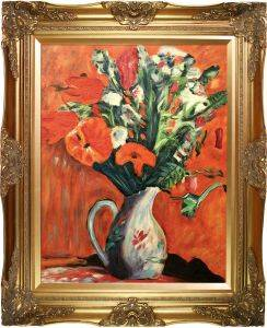 Vase of Flowers Preframed