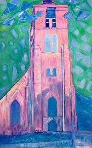 Church Tower in Zeeland