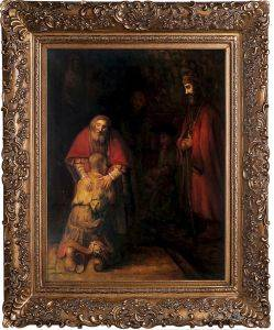 Return of the Prodigal Son Pre-Framed