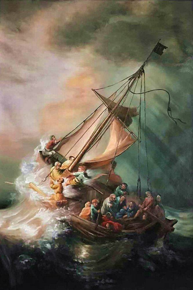 The storm on the sea of galilee rembrandt the storm on the sea of galilee publicscrutiny
