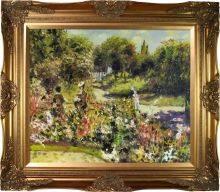 The Rose Garden at Wargemont - Pre-framed