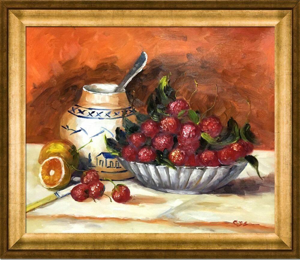 Strawberries Pre-Framed