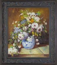 Grande Vase Di Fiori Pre-Framed