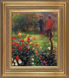 Garden in the Rue Cortot Montmartre Pre-Framed