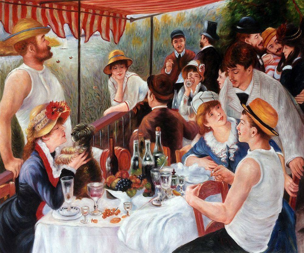 Luncheon Of The Boating Party Renoir - Lunche...