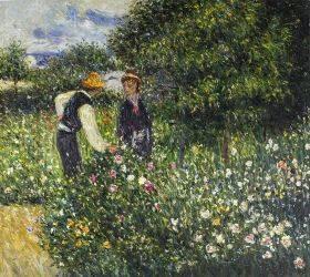 Picking Flowers, 1875