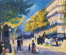 The Great Boulevards, 1875