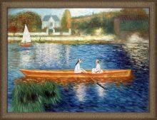 Boating on the Seine Pre-Framed