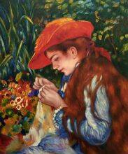 Marie-Therese Durand-Ruel Sewing