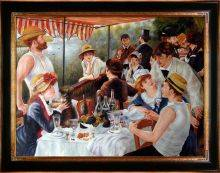 Luncheon of the Boating Party Pre-Framed