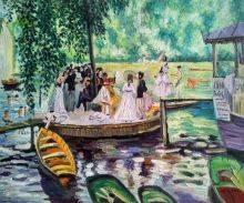 La Grenouillere (The Frog Pond)