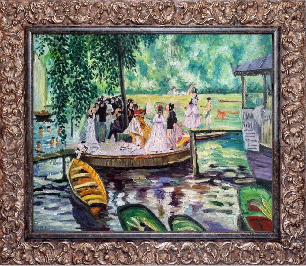 La Grenouillere (The Frog Pond) Pre-Framed