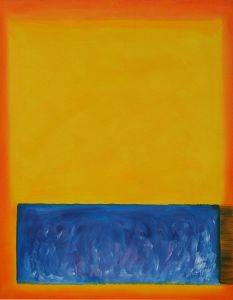 Yellow,Blue,and Orange, 1955