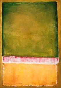 Untitled, 1949 (green, pink, yellow)