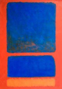 Blue, Orange, Red, 1961