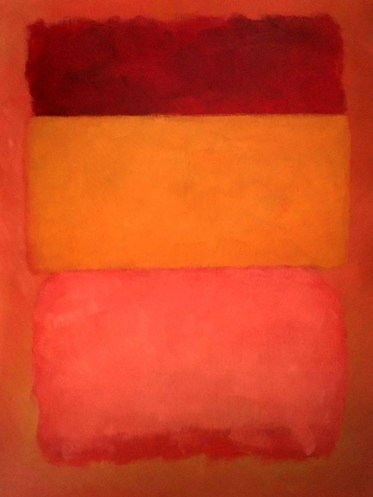 Orange, Red, Yellow, 1961