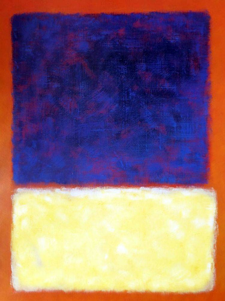 Red, Orange, Tan and Purple, 1954