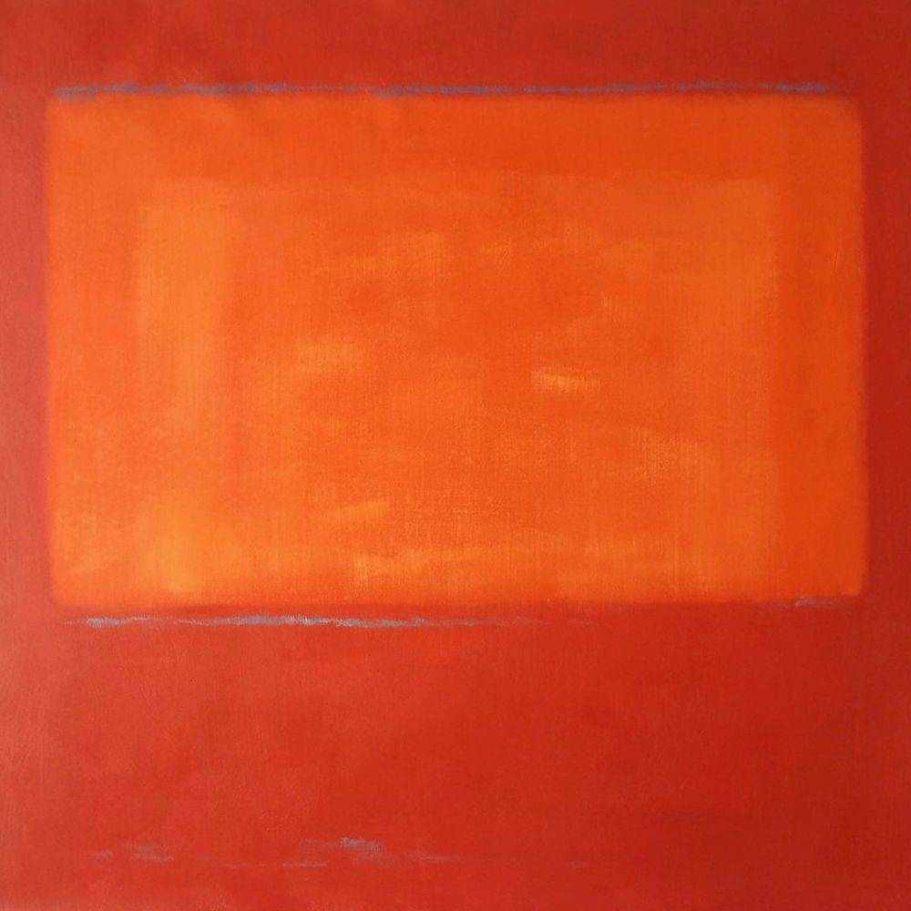 Ochre and Red on Red, 1957
