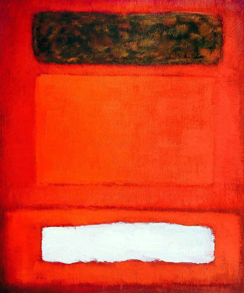 No. 16 (Red, White, and Brown), 1957