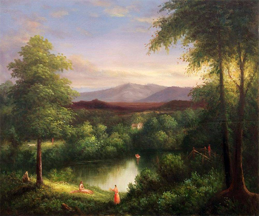 View on the Catskill--Early Autumn, 1837