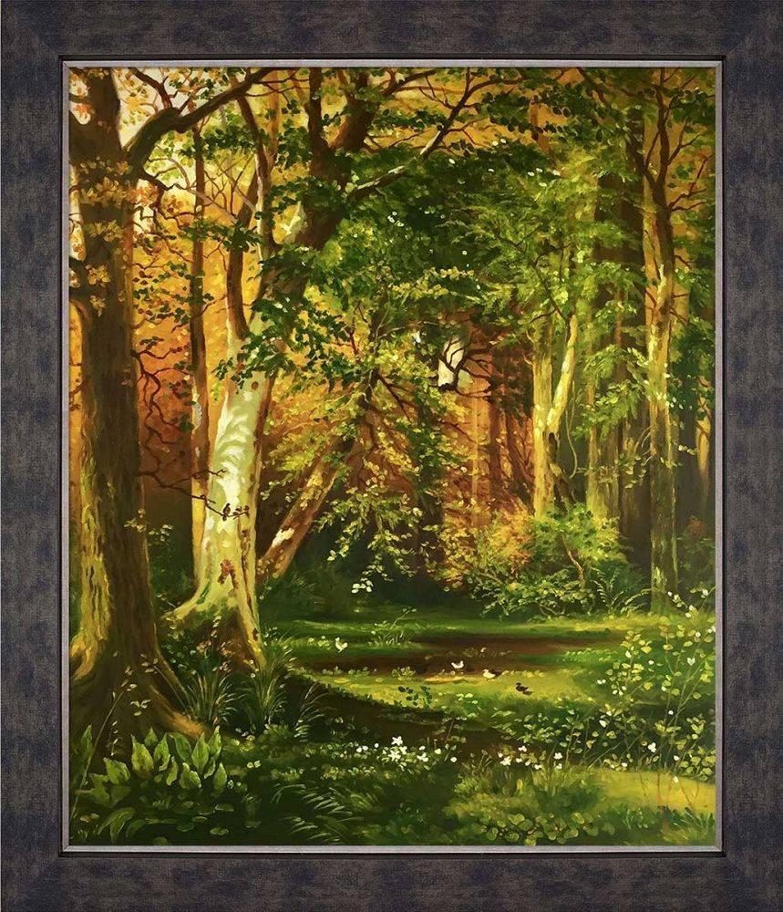 Forest Scene Pre-Framed