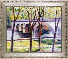 Bridge near Giverny Pre-Framed