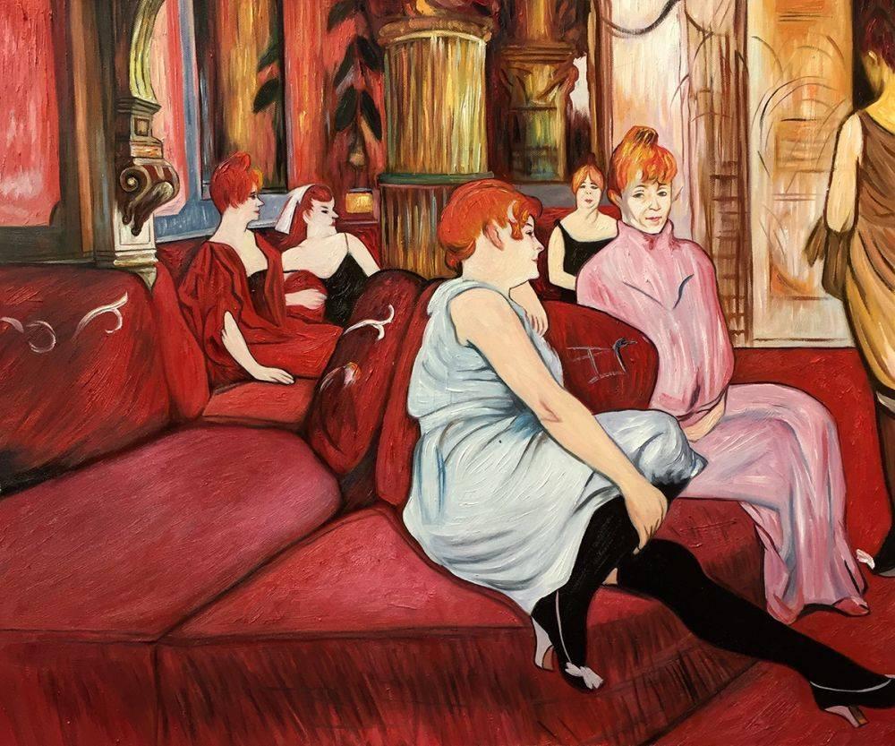 The Salon de la Rue des Moulins