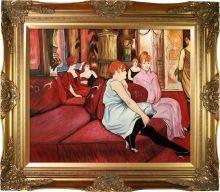 The Salon de la Rue des Moulins Pre-Framed