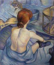 Woman at Her Toil