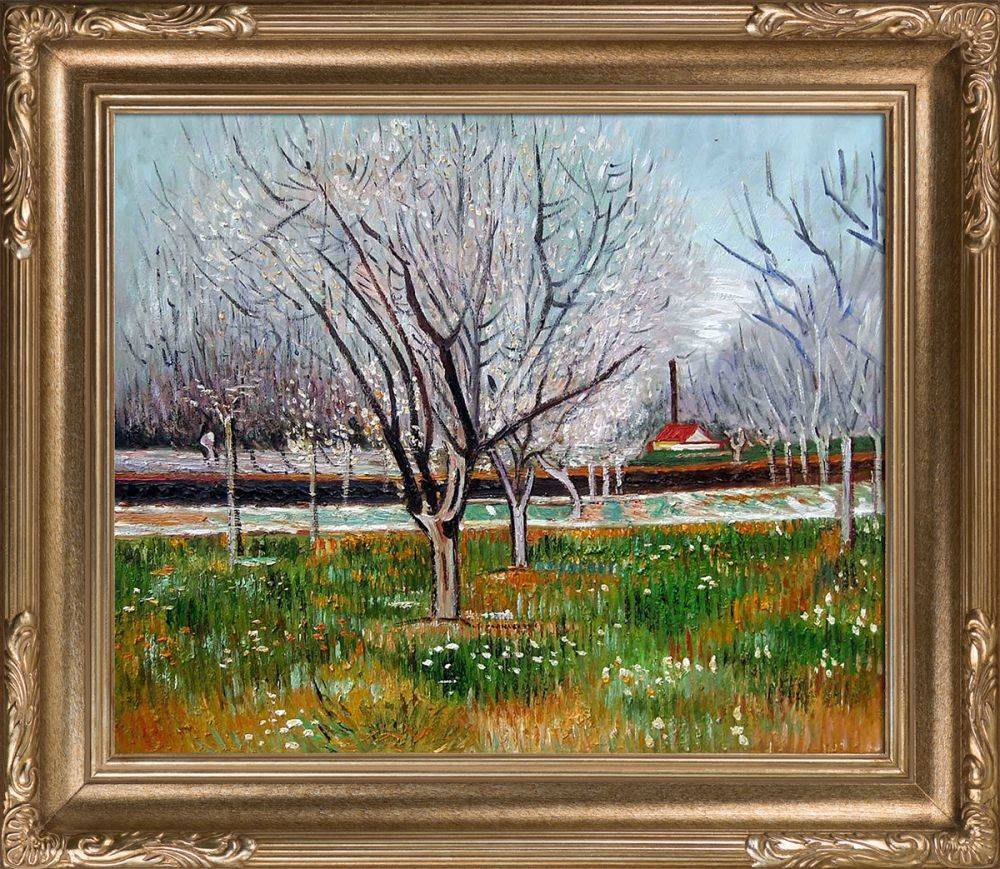 Orchard in Blossom (Plum Trees) Pre-Framed