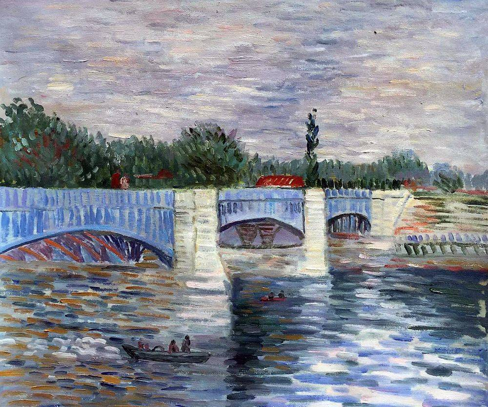 The Seine With the Pont de la Grande Jatte Summer
