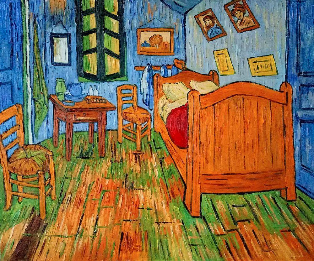 Bedroom at Arles - Vincent Van Gogh Reproduction on wheat fields, starry night over the rhone, bedroom van gogh painting oil, bedroom in arles high resolution, sunday afternoon on the island of la grande jatte, bedroom at arles by van gogh, wheat field with crows, the church at auvers, olive trees, yellow house, vincent van gogh, bedroom in arles 1889, water lilies, portrait of dr. gachet, sesame street bedroom van gogh, cafe terrace at night, church at arles van gogh, van gogh museum, the bedroom van gogh, self-portraits by vincent van gogh, the starry night, room at arles van gogh, the potato eaters, bedroom vincent van gogh ppt, room in arles van gogh,