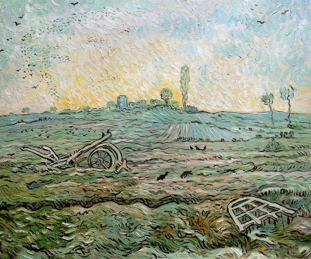The Plough and the Harrow (After Millet), 1890