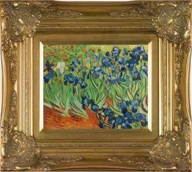 Irises Pre-Framed