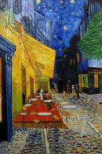 Cafe Terrace at Night (Luxury Line)