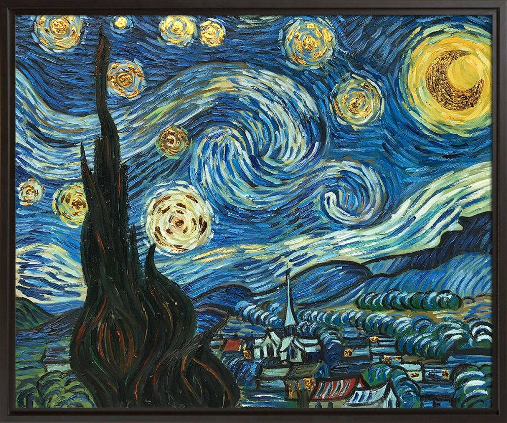 Starry Night (Luxury Line) Pre-Framed