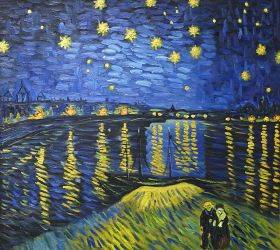Starry Night Over the Rhone (Luxury Line)