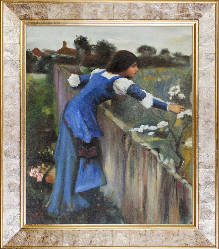 The Flower Picker Pre-Framed